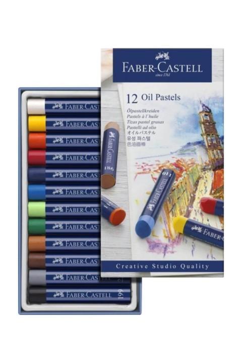 Faber Castell Creative Studio Yağlı Pastel Boya 12 Renk