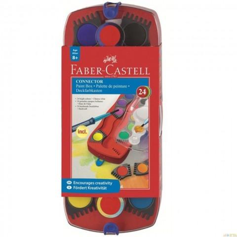 Faber-Castell Değiştirilebilir Tablet Sulu boya 24 Renk