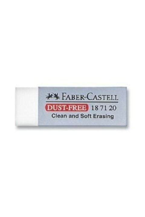 Faber Castell Dust-free Beyaz Silgi Büyük Boy 20`li Kutu