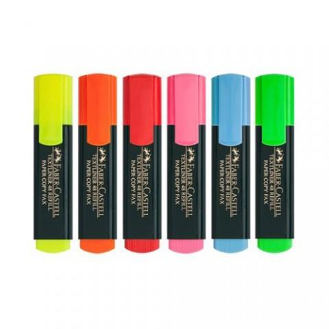 Faber Castell Fosforlu Kalem Renk Çeşitleri
