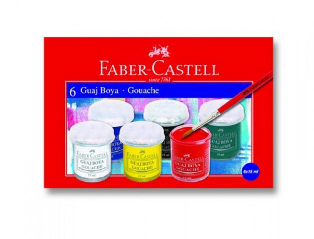 Faber-Castell Guaj Boya 6'lı