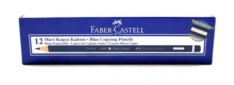 Faber Castell Mavi Kopya Kalemi 12 Adet 1 Kutu