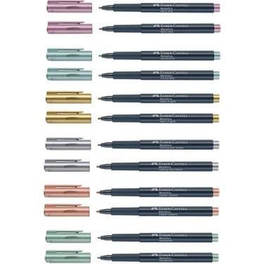 Faber Castell Metalik Markör Yeni Renkler