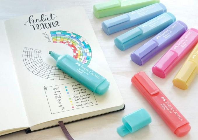 Faber Castell Pastel Renk Fosforlu Kalem 8'li Set