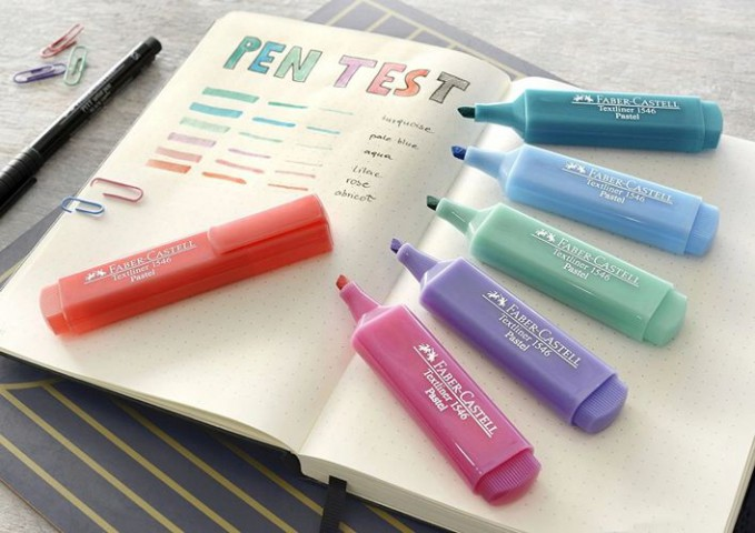 Faber Castell Pastel Renk Fosforlu Kalem Renk Seçenekleri
