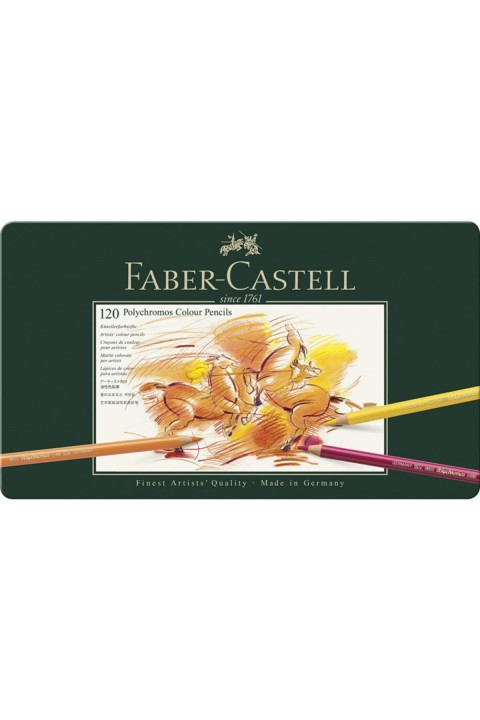 Faber Castell Polychromos Kuru Boya 120 Renk