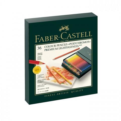 Faber Castell Polychromos Kuru Boya Kalem Seti 36 Renk