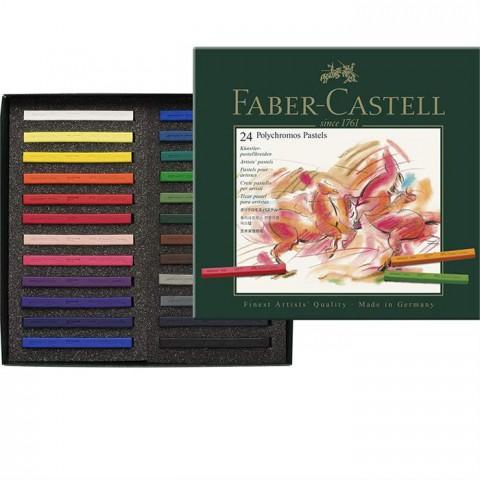Faber-Castell Polychromos Pastel Boya 24 Renk