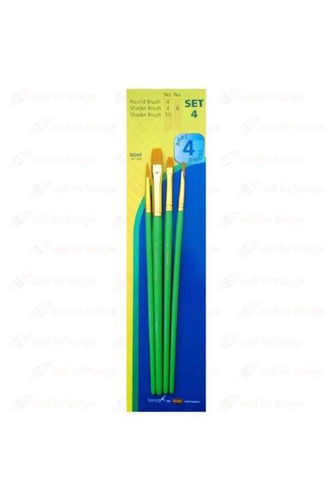 Fanart Academy 500 Fırça Seti No:4(4'lü)