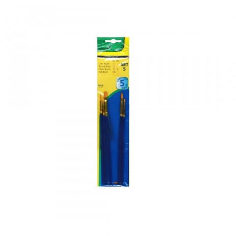 Fanart Academy 500 Fırça Seti No:5 (5'li)