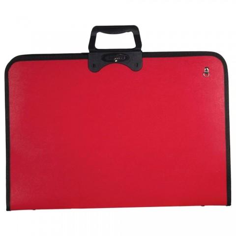 Fanart Academy Proje Çantası 38x53cm Kırmızı