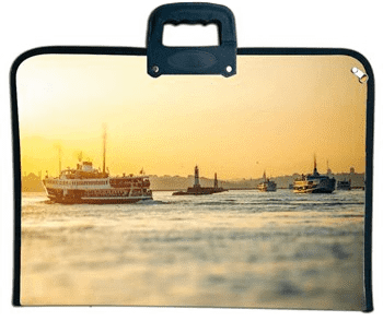 Fanart Proje Çantası Boğaz Köprü. 38X53 F-9515.304
