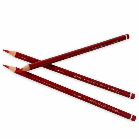 Fatih Kırmızı Kopya Kalemi 12 li