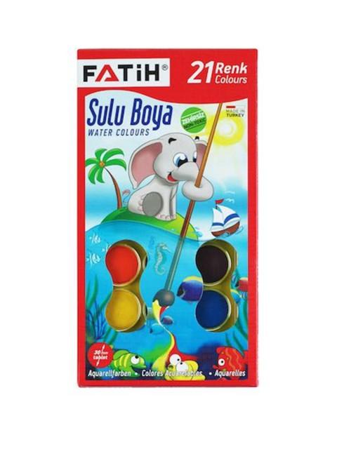Fatih Sulu Boya K-21 Big Size 21 Renk