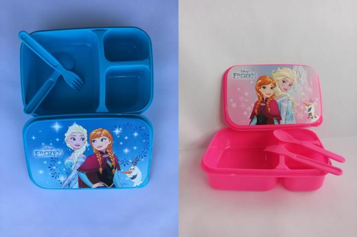 Frozen Desenli Beslenme Kabı