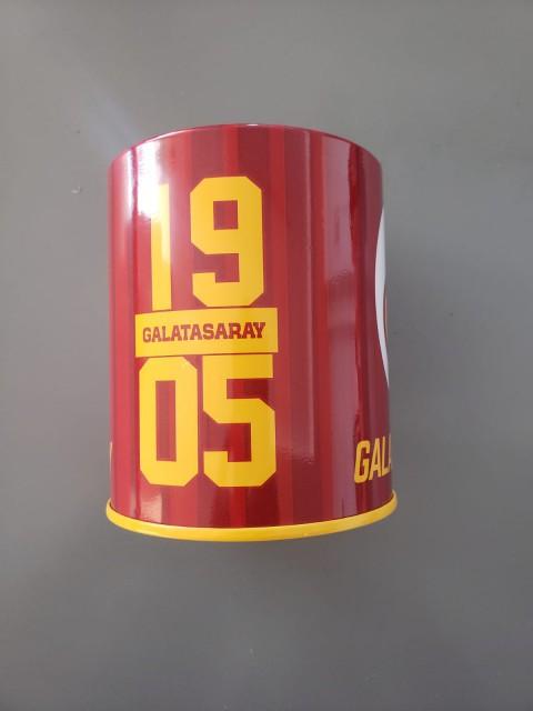 Galatasaray Lisanslı Masaüstü Metal Kalemlik