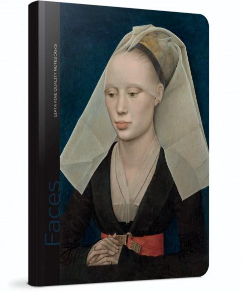 Gıpta Faces Sert Kapak 120 Yaprak Çizgili Defter 13x21 (Rogier Van Der Weyden) (5605)
