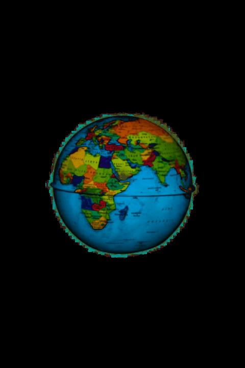 Gürbüz Globe Siyasi Küre + Kalemtraş 10 cm