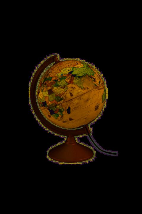 Gürbüz Işıklı Antik Küre 26 cm