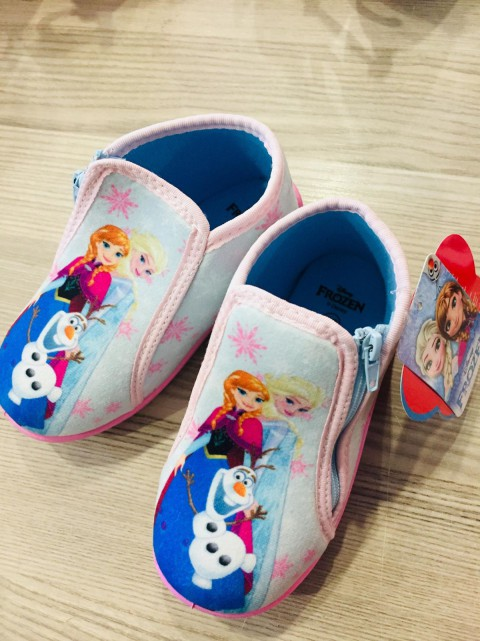 Hakan Çanta Frozen Pembe Kız Çocuk Panduf