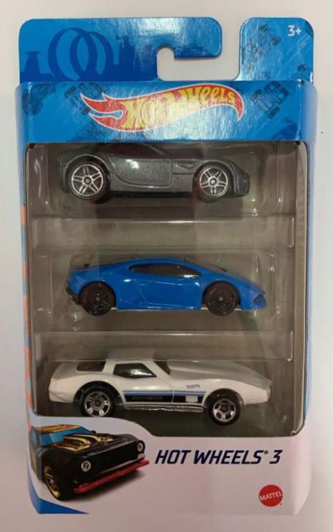 Hot Wheels Üçlü Araba Seti