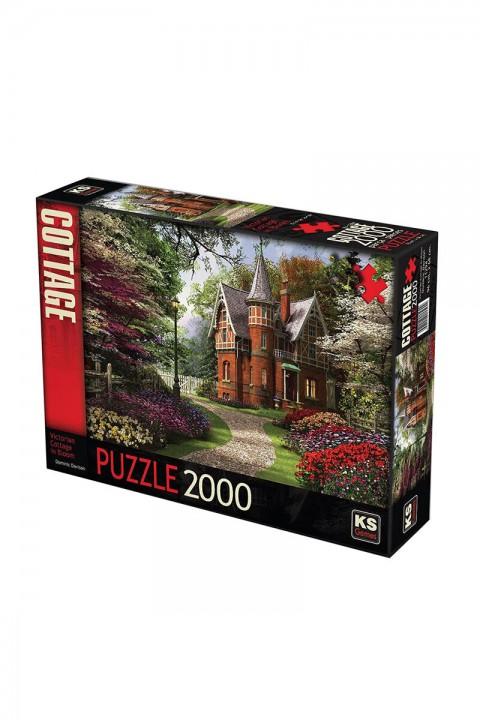 KS Puzzle 2000 Parça Victirian Cottage