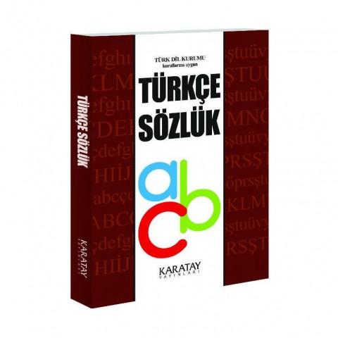 Karatay Yayınları TDK Türkçe Sözlük