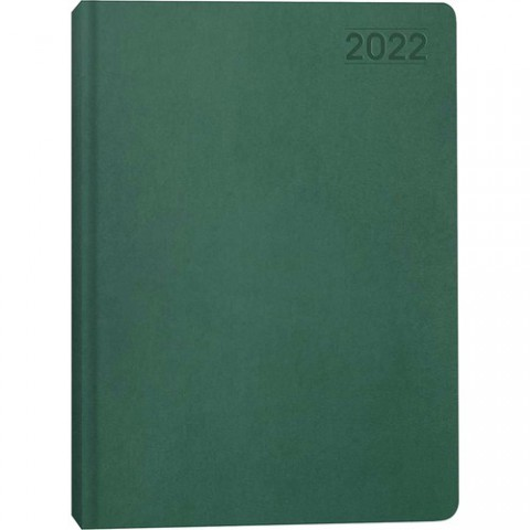 Keskin Color 2022 Günlük 17x24 Termo Deri Ajanda-Yeşil