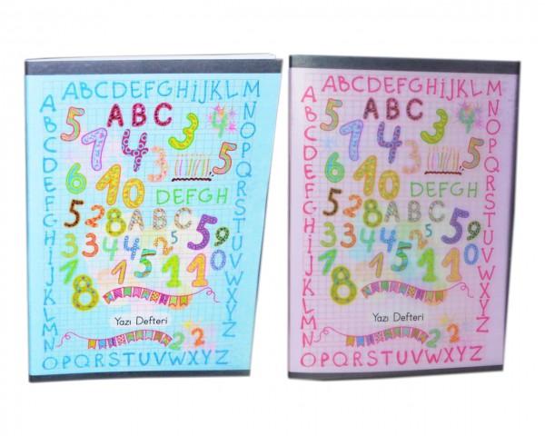 Keskin Color 40 Yaprak A5 Tel Dikiş Plastik Kapak Dik Güzel Yazı Defteri