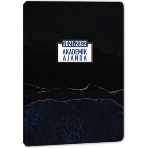 Keskin Color Mn 2022 Akademik Ajanda 17 x 24 cm Marble