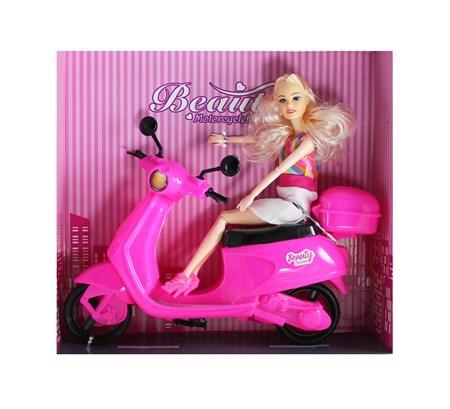 King Toys Pembe Scooter Kız 2020