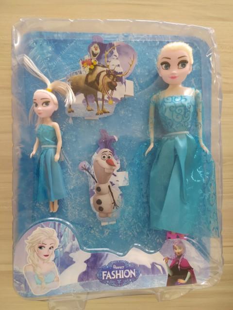 King Toys Perfect Fashıon Frozen Çiftli  Bebek 016