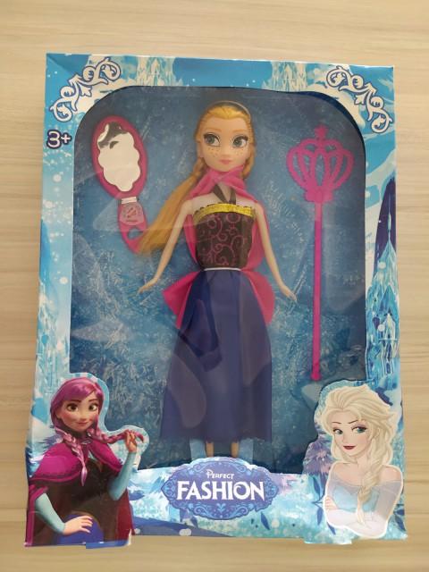 King Toys Perfect Fashıon Frozen Tekli Bebek 010