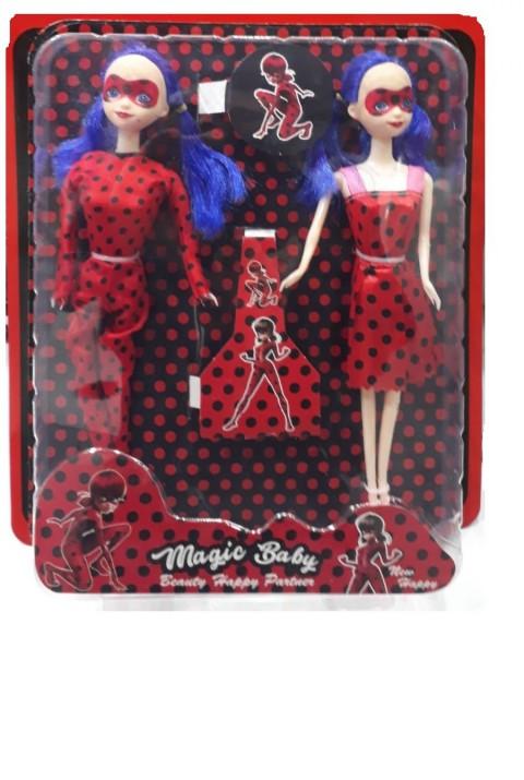 King Toys Perfect Fashion Kedili Kız Çiftli Bebek 014