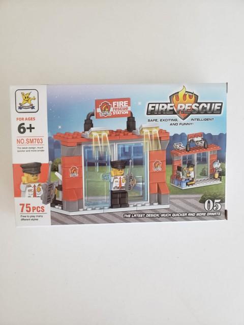 Kızılkaya Oyuncak Lego İtfaiye 75-100 Parça