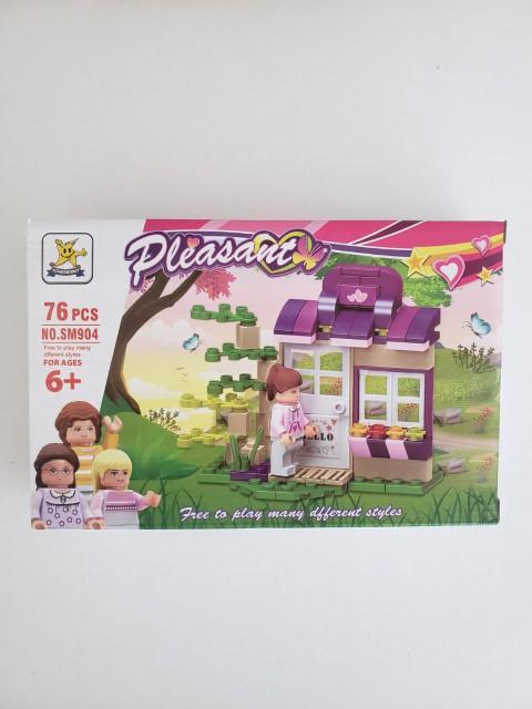 Kızılkaya Oyuncak Lego Kız Figürleri 78-103 Parça