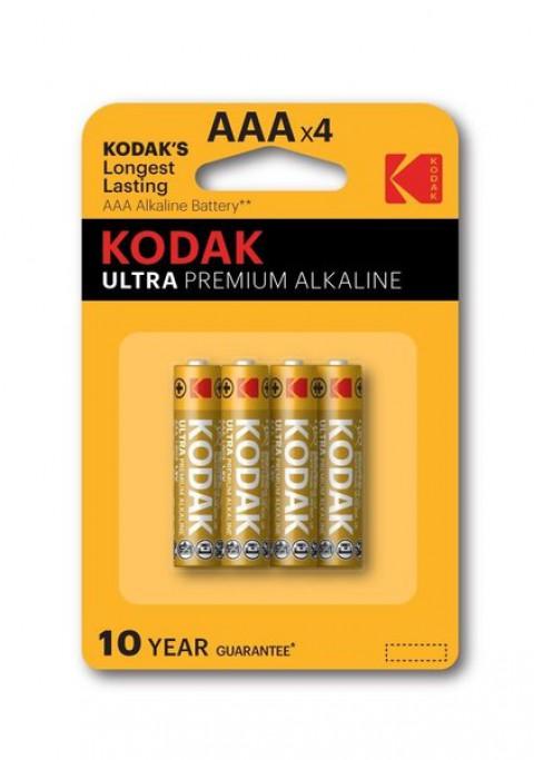 Kodak 4 Adet Ultra Premium Alkalin İnce Pil