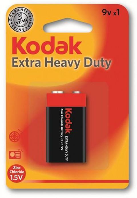 Kodak Çinko Karbon 9 Volt Pil