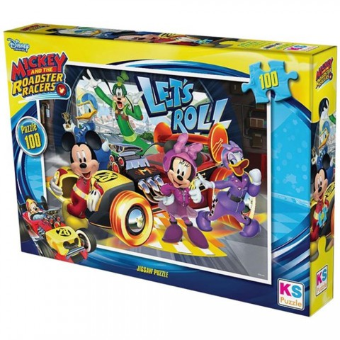 Ks Games 100 Parça Mickey Mouse Puzzle
