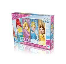 Ks Games 100 Parça Prenses Puzzle