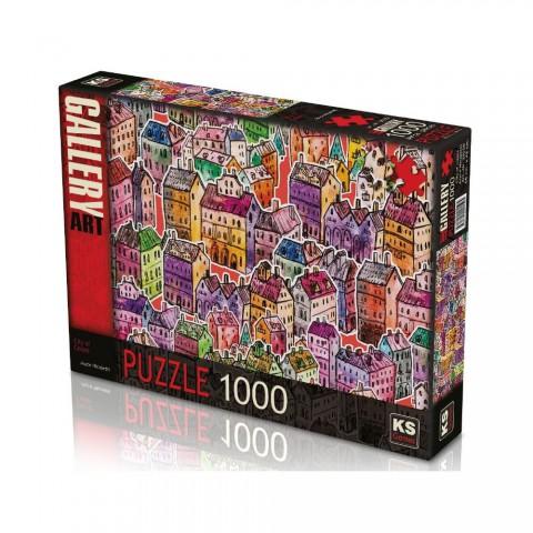 Ks Games 1000 Parça Puzzle City of Colors