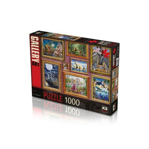 Ks Games 1000 Parça Puzzle Gallery 20546