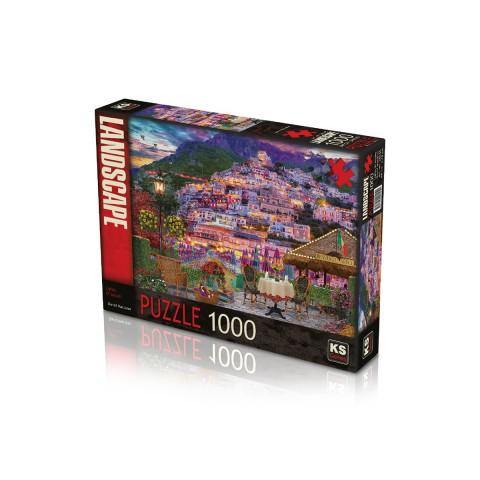 Ks Games 1000 Parça Puzzle Lights of Amalfi 20545