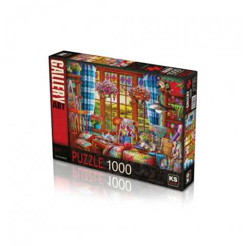 Ks Games 1000 Parça Puzzle Stitching Room 20565