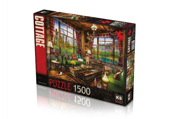 Ks Games 1500 Parça Puzzle Chalet 22016