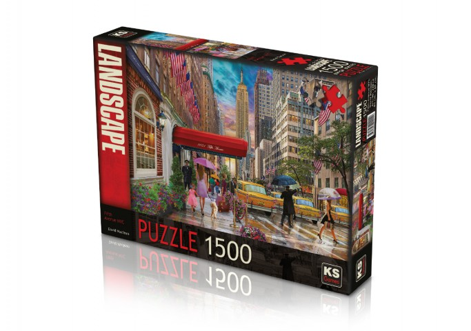 Ks Games 1500 Parça Puzzle Fifth Avenue NYC