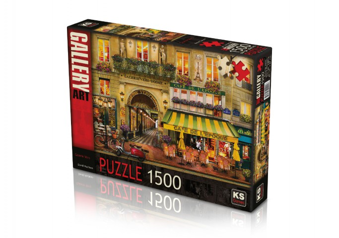 Ks Games 1500 Parça Puzzle Galerie Vero 22015