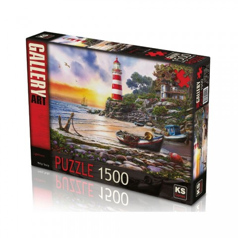 Ks Games 1500 Parça Puzzle Lighthouse 22019