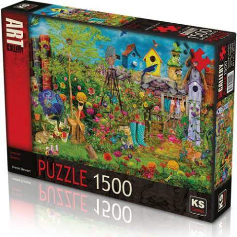 Ks Games 1500 Parça Puzzle Summer Garden 22009