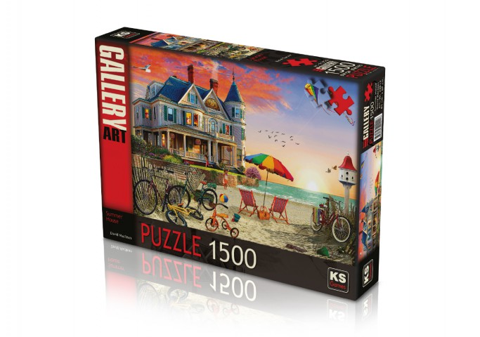 Ks Games 1500 Parça Puzzle Summer House 22012